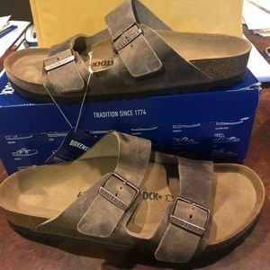 Birkenstock Arizona tobacco brown asst new